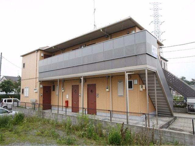 武蔵嵐山駅東口ロータリー横。 外観