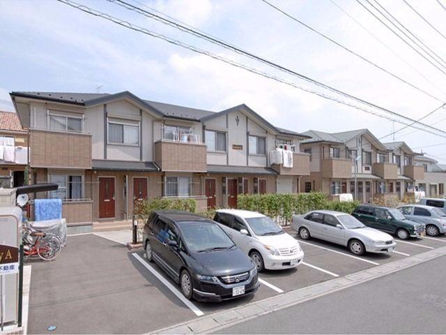 東松山市にこんなリッチなアパートがあったなんて!! 外観