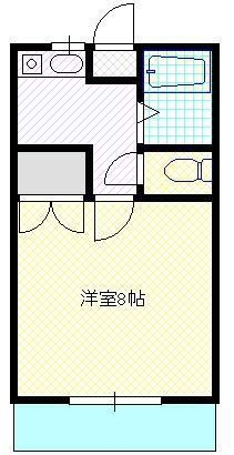 レーベンハイム 【1階】 102 間取り