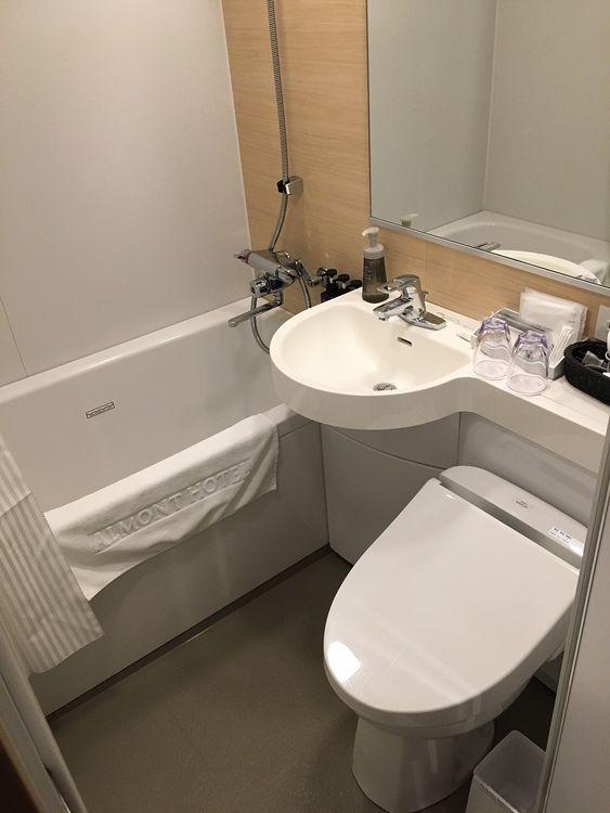 大浴場に行ったのでユニットバスは使用していないのですが次回はつかいたいな~( ^^)