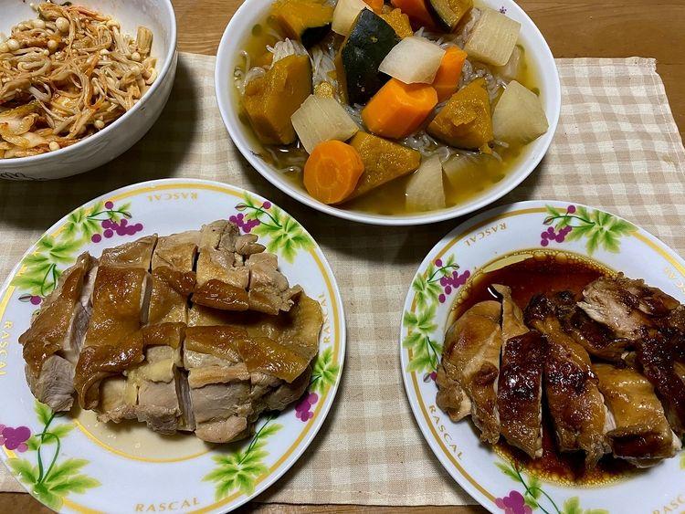 長男の料理(*'▽')