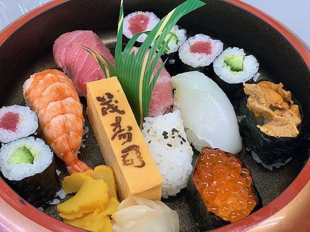 東松山『茂寿司』さん(〃)´艸`)オイシー♪