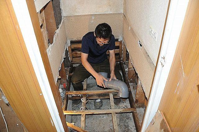 謎のいきものHの古民家再生DIY備忘録 ⑨『トイレをリフォーム』