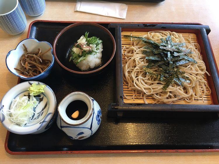 鳩山のお蕎麦。