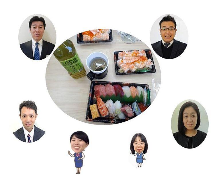 売買メンバーで寿司ランチ(^^♪
