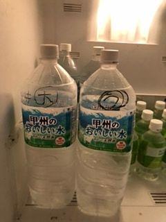 水分補給は大事!