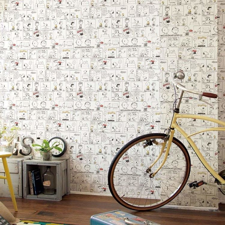 こんなデザインの壁紙もチョイスしてみても〇