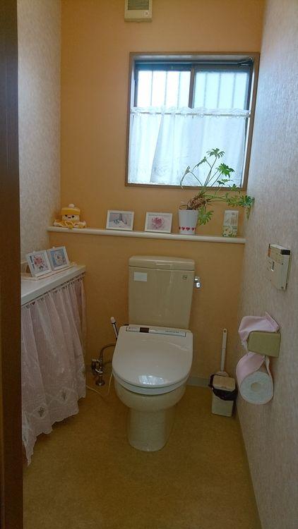 広めのトイレでした☆